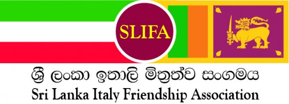 Italy Lanka Friendship Logo