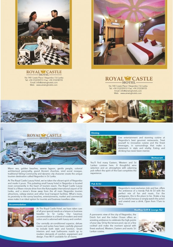 Royal Castle Leaflet