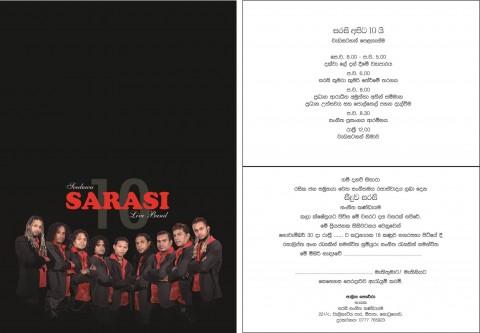 Sarasi Invitation